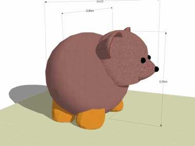 ours en 3D
