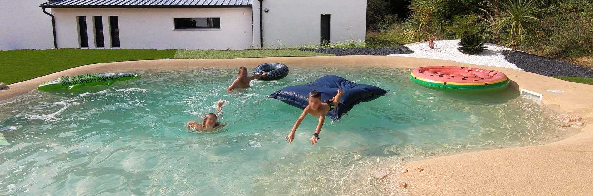 revetement pour parc aquatique