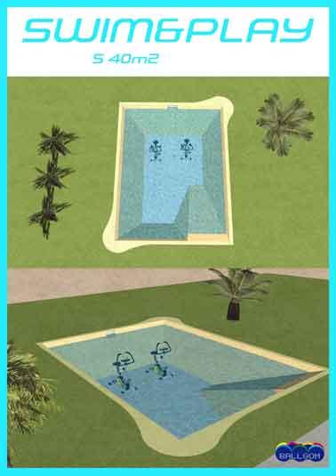 piscine lagon sol souple