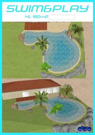 plage piscine sol souple