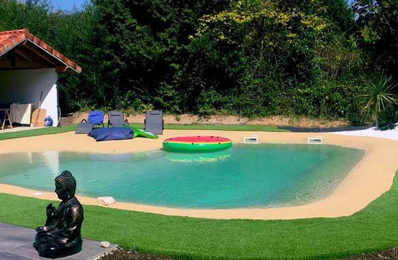 plage de piscine EPDM