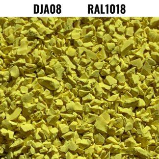 Granulats d'EPDM RAL1018