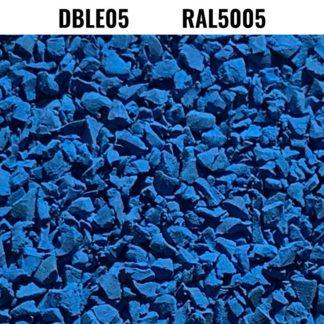 Granulats d'EPDM RAL5005