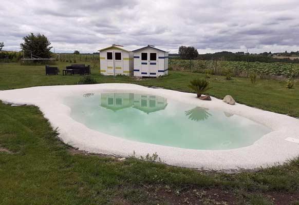 réaliser un bassin lagon