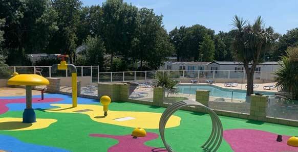 sol pour parc aquatique