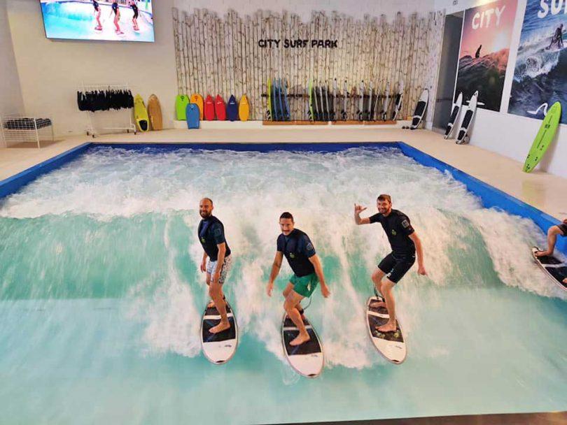 Sols de sécurité DIECO au City Surf Park de Lyon